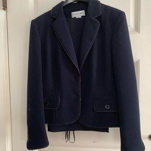 Jones New York navy pantsuit blazer size 14